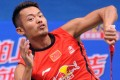 China's Lin Dan began his world championship campaign in Guangzhou on a high note with a first round victory. Photo: Xinhua