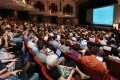The Hong Kong Polytechnic University auditorium was packed for the opening of the Wikimania conference. Photo: SCMP