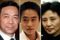 Bo Xilai, Bo Guagua and Gu Kailai. Photo: Reuters