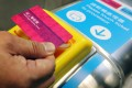 The new memory chip smart ticket will have more storage capacity and offer greater flexibility to add new products. Photo: May Tse