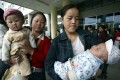 Ten to 15 per cent of Chinese women are unable to have a baby. Photo: AFP