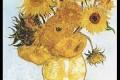 "One of Van Gogh's ""Sunflowers"". Photo: SCMP"