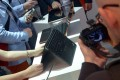 Visitors to Berlin's IFA gadget show check out Lenovo products. Photo: EPA