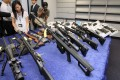 Police seized dozens of illegally-altered airguns in a major operation targetting vendors of modified weapons. Photo: SCMP