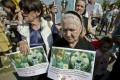 Ionut Anghel's grandmother Aurica urges change. Photo: AP