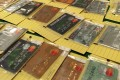 Police seized 1,099 fake credit cards in the first six months of this year. Photo: SCMP