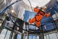 The Copenhagen Suborbitals team test the DIY spacesuit. Photo: Jev Olsen