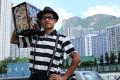 "Street performer Andrew So Chun-chau, known as ""Mr Funny"". Photo: Nora Tam."