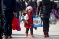 Public anger has been growing over the one-child policy in China. Photo: EPA