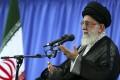 Iran's Supreme Leader Ayatollah Ali Khamenei speaks at a meeting of Revolutionary Guard commanders. Photo: AP