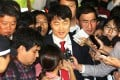 Left-wing lawmaker Lee Seok-ki has been charged with plotting a pro-North Korea rebellion. Photo: AP