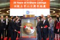 The Hong Kong stock exchange celebrated last month two decades of listings of companies from the mainland. Alibaba would have been the latest and one of the biggest. Photo: May Tse