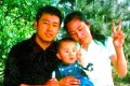 Xia Junfeng (left) and his family. Xia was executed on September 25 for stabbing two urban management officers to death. Photo: SCMP