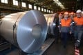 ArcelorMittal wants to close its steelworks in Florange in northern France, saying the plant is uncompetitive. Photo: AP