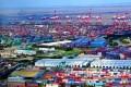 The Waigaoqiao Bonded area of the pilot Shanghai free trade zone, which is making a cautious start since being launched on Sunday amid great expectations. Photo: Xinhua