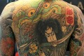 A full back tattoo by award-winning Taiwanese tattoo artist Chen Cheng-hsiung, better known as Diau An. Photo: KY Cheng