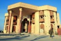 Saddam Hussein's riverside palace in Basra has been transformed into the country's principal museum. Photo: AFP
