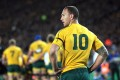 Quade Cooper will face up to England at Twickenham on Saturday. Photo: AFP