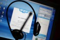 Under mainland regulations, Skype services are provided through a partnership. Rival services include Tencent's QQ. Photo: AFP