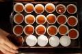 Liquid gold: Hong Kong Park's LockCha Tea House hosts a tasting of narcissus oolong made from a lot valued at HK$1 million. Photo: Felix Wong