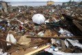 A view of a super typhoon Haiyan devastated area in Tacloban, Philippines. Photo: EPA
