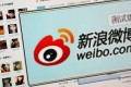 Weibo advertising revenues surged 125 per cent year-on-year in the third quarter. Photo: Reuters