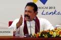 Sri Lankan President Mahinda Rajapaksa. Photo: AP