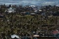 A devastated area from Typhoon Haiyan. Photo: AFP