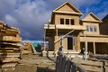 Home construction in Vaughan Valley, Toronto. Photo: Bloomberg