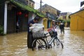 Flooded street in Vietnam's central town of Hoi An. Photo: Reuters
