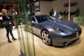 A Fisker Karma luxurious electric car is seen at the US car maker's booth during the 83rd Geneva Motor Show in 2013. Photo: AFP