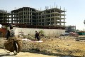 A stalled residential development in Kabul. The government hopes subsidies will prop up the property market. Photo: Lynne O'Donnell