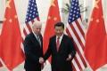 Vice-president Joe Biden meets China's leader, Xi Jinping. Photo: AP