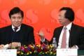 Raymond Kwok Ping-luen, left, and Thomas Kwok Ping-kwong.
