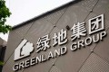 A logo of Greenland Group. Photo: SCMP pictures
