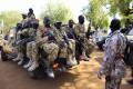 South Sudanese army soldiers on a truck in Bor. Photo: Reuters