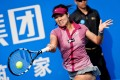 Li Na's win in the Shenzhen Open is a great confidence boost ahead of  the Australian Open. Photo: AFP
