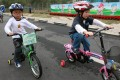 Recent Baptist University surveys show 20 per cent of Hong Kong's secondary school students can't ride a bicycle.