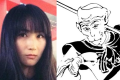 """The Weibo user known as """"Mama's Concubine"""" (left) and an illustration of Sun Wukong (right). Photo: SCMP Pictures"""