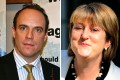 Dominic Raab (left) and Labour MP Hazel Blears. Photos: Dominic Raab's blog, Reuters