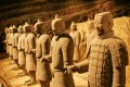 The Terracotta Army on display. Photo: AP