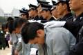 File photo of a sentencing in Guangzhou. Photo: AFP