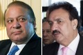 Pakistani Prime Minister Nawaz Sharif (left) and Interior Minister Rehman Malik. Photos: AFP, EPA