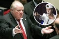 Justin Bieber's misdemeanours have momentarily eclipsed Toronto Mayor Rob Ford's antics Photos: AP and Reuters