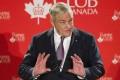 Former media mogul Conrad Black speaking in Toronto in this file image. Photo: Reuters