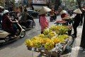 The tour groups had full itineraries planned in the capital Hanoi which have now been cancelled. Photo: AFP