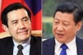 Taiwan's President Ma Ying-jeou and Chinese President Xi Jinping. Photos: Reuters and AFP