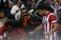 Diego Costa celebrates against Real Sociedad. Photo: Reuters