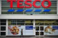Tesco posted a heavy decline in sales in the run-up to Christmas. Photo: AFP