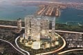 An artistic impression of the Dubai Pearl development in Dubai, where CTFE has bought a residential-hotel project. Photo: SCMP